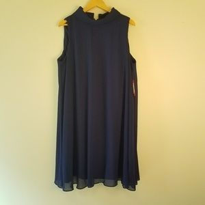 Vince Camuto Blue Purple Dress 20W